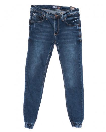 6214 Blue Nil джинсы мужские молодежные на резинке синие весенние стрейчевые (29-36, 8 ед.) Blue Nil