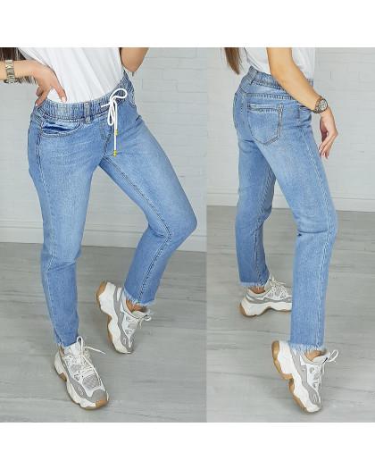 3631 New jeans мом синий весенний коттоновый (25-30, 6 ед.) New Jeans