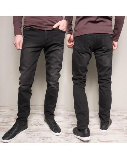 1159 Cookers джинсы мужские полубатальные темно-серые весенние стрейчевые (30-38, 7 ед.) Coockers