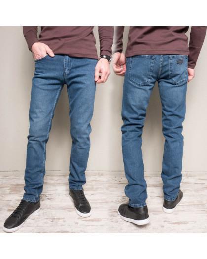 1186 Cookers джинсы мужские синие весенние стрейчевые (30-38, 7 ед.) Coockers