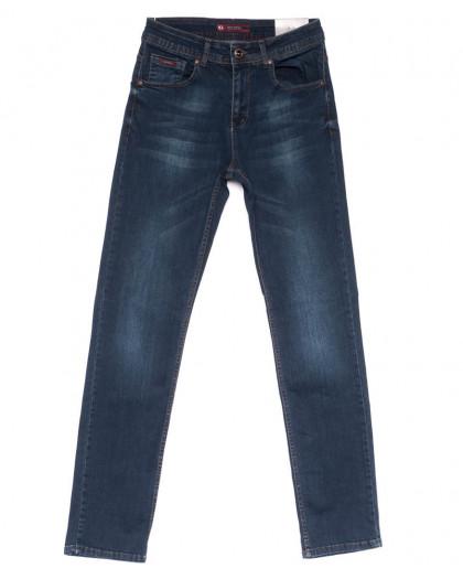 0655 Redmoon джинсы мужские синие весенние стрейчевые (31-38, 6 ед.) Red Moon