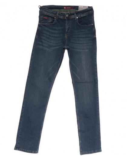 0650 Redmoon джинсы мужские синие весенние стрейчевые (31-38, 6 ед.) Red Moon