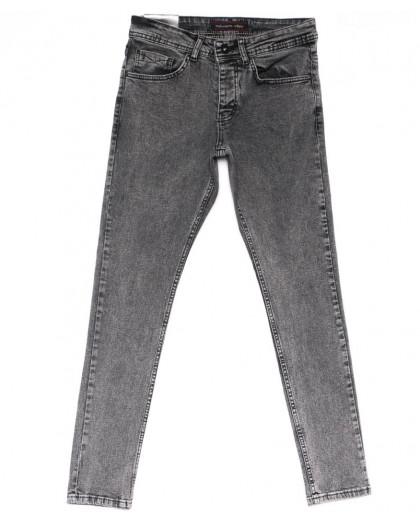 0662 Redmoon джинсы мужские серые весенние стрейчевые (29-36, 7 ед.) Red Moon