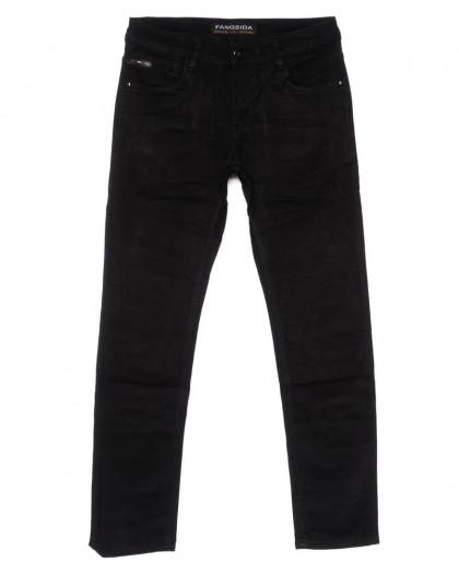 4036 Fangsida джинсы мужские черные весенние стрейчевые (30-38, 8 ед.) Fangsida