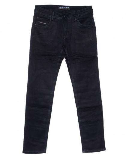 4051 Fangsida джинсы мужские полубатальные темно-синие весенние стрейчевые (32-38, 8 ед.) Fangsida