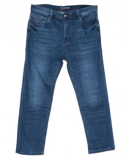 3043 Fangsida джинсы мужские батальные синие весенние стрейчевые (36-41, 8 ед.) Fangsida