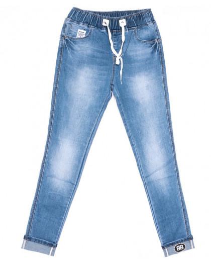 1522 Lady N джинсы женские батальные синие весенние стрейчевые (30-36, 6 ед.) Lady N