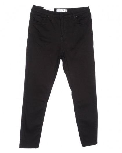8001 Sasha джинсы женские батальные серые весенние стрейчевые (42-52, 7 ед.) Sasha