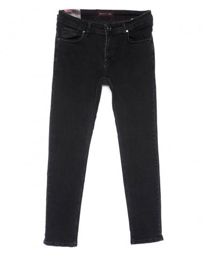 0663 Redmoon джинсы мужские серые весенние стрейчевые (30-36, 6 ед.) REDMOON