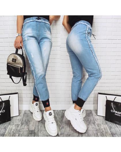 8801-1 D Relucky джинсы-джоггеры на резинке весенние котоновые (25-30, 6 ед.) Relucky