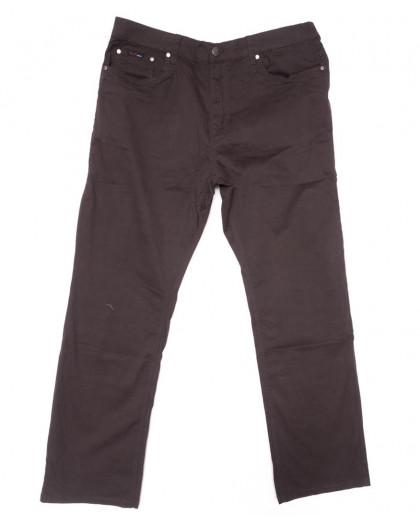 3033-D LS брюки мужские батальные коричневые весенние стрейчевые (34-44, 8 ед.) LS