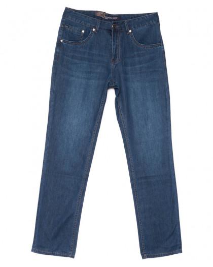 1034 LS джинсы мужские полубатальные синие весенние коттоновые (32-38, 8 ед.) LS