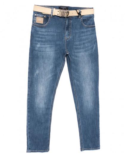 9382-С Dmarks джинсы женские полубатальные синие весенние стрейчевые (28-33, 6 ед.) Dmarks