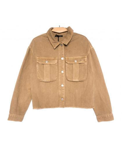 9020-1 Saint Wish куртка джинсовая женская хаки весенняя коттоновая (ХS-XL, 5 ед.) Saint Wish