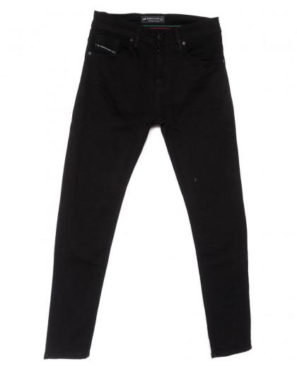 5685 Siyah Redman джинсы мужские черные весенние стрейчевые (29-36, 8 ед.) REDMAN