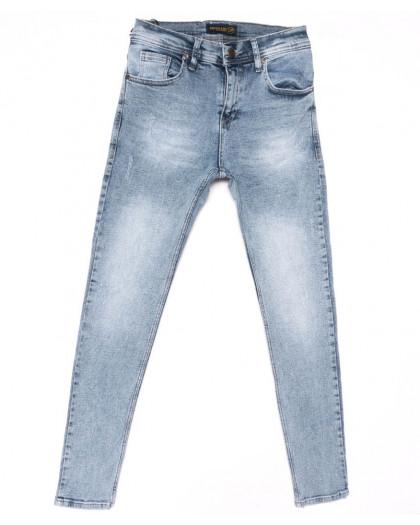 5762 Redman джинсы мужские с царапкой синие весенние стрейчевые (29-36, 8 ед.) REDMAN