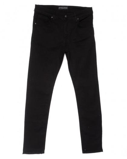 5670 Siyah Redman джинсы мужские полубатальные черные весенние стрейчевые (32-40, 6 ед.) REDMAN
