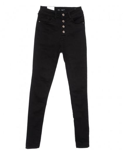 0501 Hepyek джинсы женские стильные черные весенние стрейчевые (26-31, 7 ед.) Hepyek