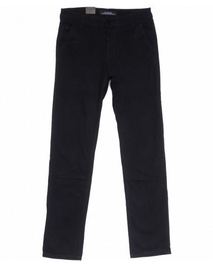 3015 LS брюки мужские черные весенние стрейчевые (29-38, 8 ед.) LS