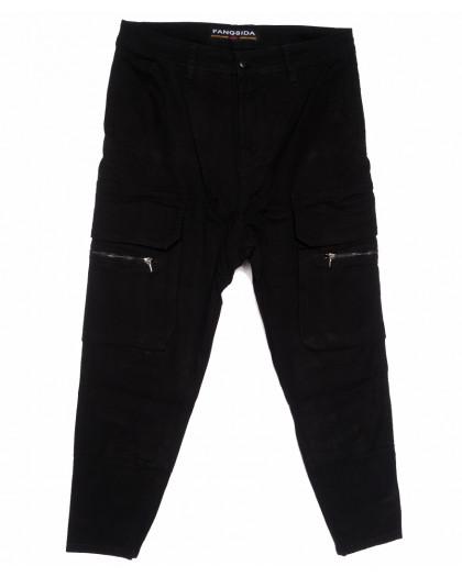 2109 Fangsida джинсы мужские стильные молодежные весенние стрейчевые (27-34, 8 ед.) Fangsida