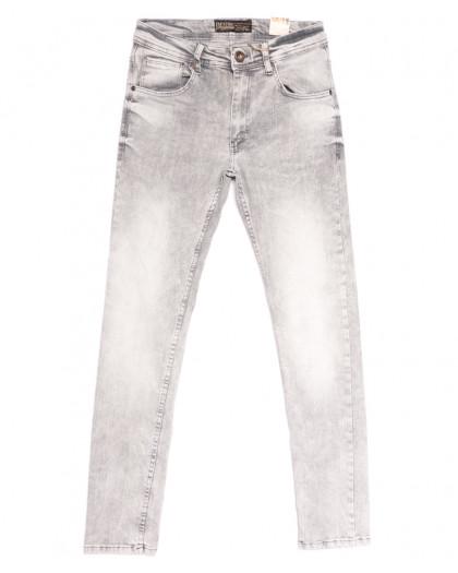 6697 Destry джинсы мужские серые весенние стрейчевые (29-36, 8 ед.) Destry