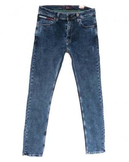 6728 Redcode джинсы мужские полубатальные синие весенние стрейчевые (32-40, 8 ед.) Redcode