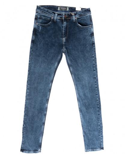 6730 Corcix джинсы мужские полубатальные синие весенние стрейчевые (32-40, 8 ед.) Corcix