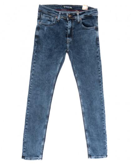6729 Destry джинсы мужские полубатальные синие весенние стрейчевые (32-40, 8 ед.) Destry