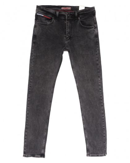 6716 Redcode джинсы мужские полубатальные серые весенние стрейчевые (32-40, 8 ед.) Redcode