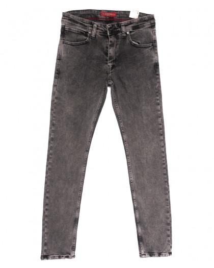 6718 Blue Nil джинсы мужские полубатальные серые весенние стрейчевые (32-40, 8 ед.) Redcode