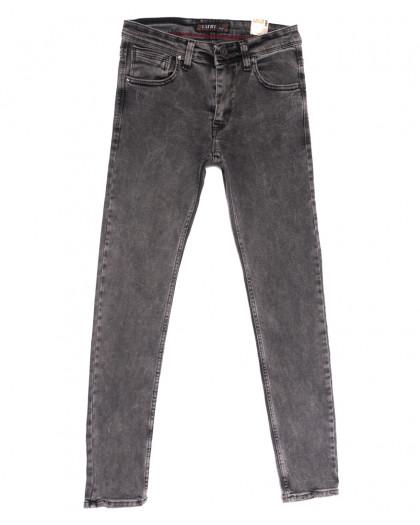6717 Destry джинсы мужские полубатальные серые весенние стрейчевые (32-40, 8 ед.) Destry