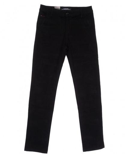 3027 LS брюки мужские черные весенние стрейчевые (29-38, 8 ед.) LS