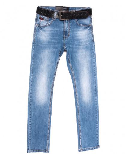 9783 Resalsa джинсы мужские синие весенние стрейчевые (30-38, 7 ед.) Resalsa