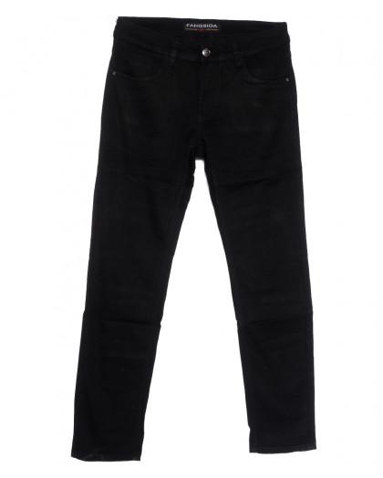 4037 Fangsida джинсы мужские черные весенние стрейчевые (31-38, 8 ед.) Fangsida