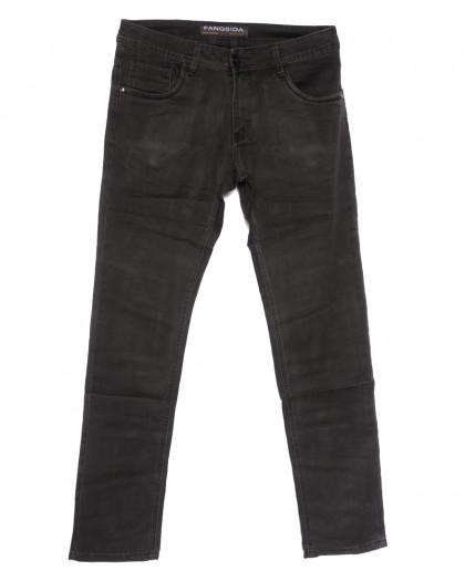 4040 Fangsida джинсы мужские серые весенние стрейчевые (30-38, 8 ед.) Fangsida