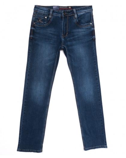 9326 Baron джинсы мужские полубатальные синие весенние стрейчевые (32-36, 8 ед.) Baron