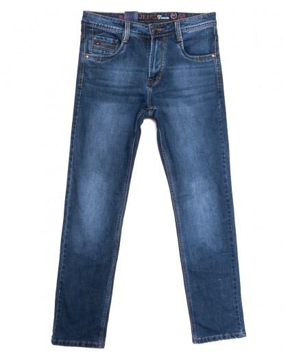 9315 Baron джинсы мужские полубатальные синие весенние стрейчевые (32-36, 8 ед.) Baron