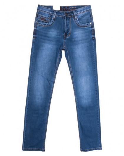 9381 Baron джинсы мужские синие весенние стрейчевые (29-38, 8 ед.) Baron