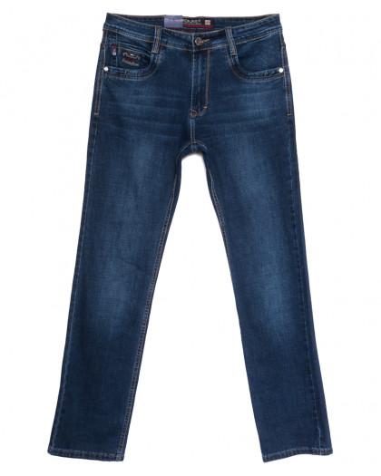 9333 Baron джинсы мужские полубатальные синие весенние стрейчевые (32-40, 8 ед.) Baron