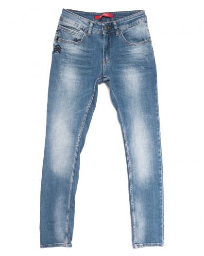 0310 Blue Brown Sparta джинсы мужские молодежные синие весенние стрейчевые (28-34, 7 ед.) Sparta