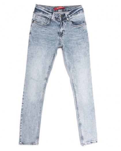 0307 Snow wash blue Sparta джинсы мужские молодежные синие весенние стрейчевые (28-34, 7 ед.) Sparta