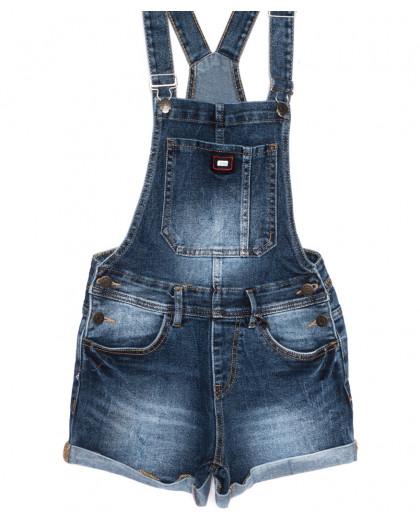 6611-2 Y Relucky комбинезон-шорты джинсовый летний стрейчевый (25-30, 6 ед.) Relucky
