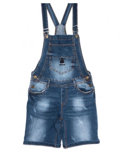 6617-2 Y Relucky комбинезон-шорты джинсовый летний стрейчевый (25-30, 6 ед.) Relucky