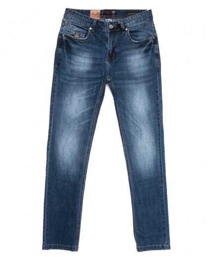 0913-5 R Relucky джинсы мужские синие весенние стрейчевые (29-38, 8 ед.) Relucky