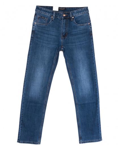 6963 Pagalee джинсы мужские полубатальные синие весенние стрейчевые (32-42, 8 ед.) Pagalee