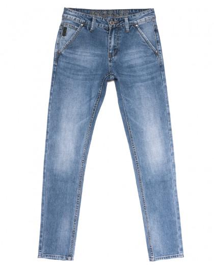 6007 Pagalee джинсы мужские молодежные синие весенние стрейчевые (28-36, 8 ед.) Pagalee