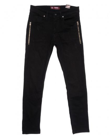 6445 Corcix джинсы мужские стильные черные весенние стрейчевые (29-36, 8 ед.) Corcix
