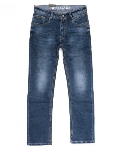 7912-03 Regass джинсы мужские полубатальные синие весенние коттоновые (32-40, 8 ед.) Regass