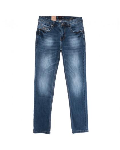 0913-5 R Relucky джинсы мужские зауженные синие весенние стрейчевые (29-38, 8 ед.) Relucky