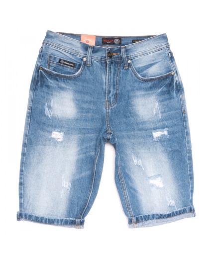 9924-4 R Relucky шорты джинсовые мужские синие летние коттоновые (29-38, 8 ед.) Relucky